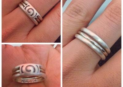 Anello Decò / Decò custom ring.
