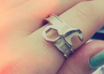 Anello Chiave inglese ./ Wrench ring.